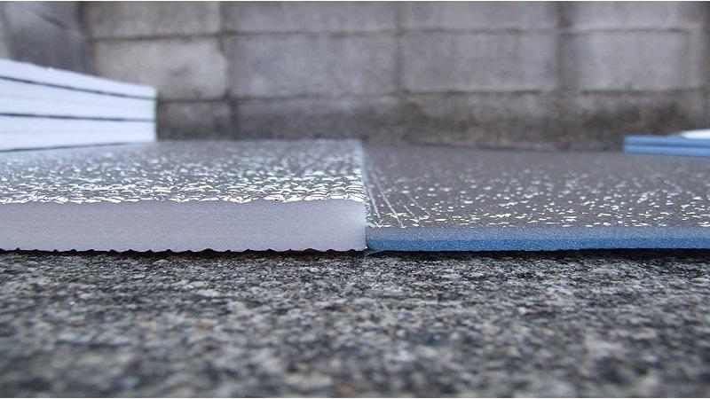 銀マットと厚手銀マットの比較