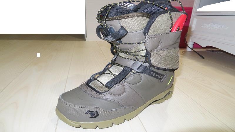 ブーツのアウター
