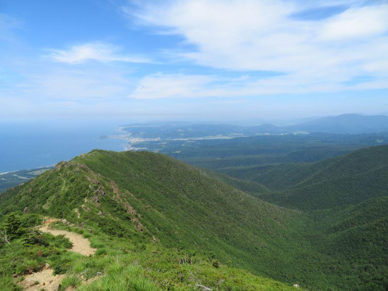 アポイ岳景色