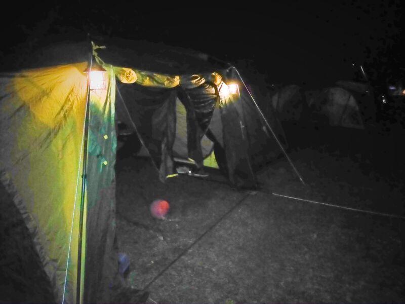 テント外灯