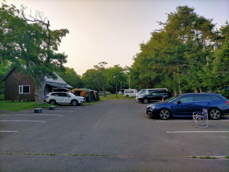フリーサイト2駐車場